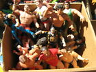 Vinatge rubber wrestlers and various others