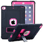Hybrid Rugged Shockproof Hard Stand Case For iPad 9.7 2018 6th Gen 2017 5th Gen