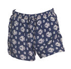 NEW Ex New Look Paisley Print Tie Front Elasticated Waist Shorts