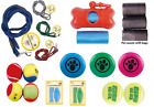 Strong Dog pet lead /Tennis Balls / Dental toys / flying disc /waste refill bags
