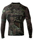 Raven Fightwear Men's Berserker BJJ MMA Rash Guard