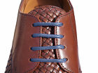 New Mens Coloured Thin Shoelaces 70cm & 95cm Long For Mens Shoes Leather Brogues