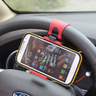 Rienar Mobile Phone Holder Mount Clip Buckle Socket Hands Free on Car Steering W