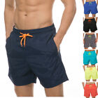 Men's Beachwear Board Shorts Surf Swimming Bathing Underpants Bright Color Lined