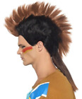 Native American Inspired Male Mohican Wig, Brown  (US IMPORT)  AC NEW