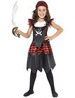Pirate Skull & Crossbones Girl Costume, Black, with Dres (US IMPORT)  COST-W NEW