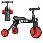 New 2 in1 Portable Walker Tricycle & Toddlers Glide & Mini Foldable Tricycle