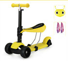 New 2 in 1 Children Multifunctional Lift Scooter Baby Fashion Toy Car