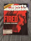 September 18, 2000 Bob Bobby Knight Indiana Hoosiers Fired Sports Illustrated