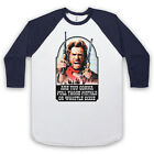 CLINT EASTWOOD OUTLAW JOSEY WALES UNOFFICIAL WESTERN 3/4 SLEEVE BASEBALL TEE