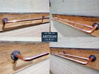 Copper Pipe Towel Rail - Double / Single Rails - Rustic /...