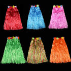 hula costumes - Hawaiian Hula Grass Skirt Fancy Dress Adult Costume With Flower LongRH