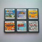 6PCS MARIO Game Card Child Children Gift ForDS NDS DSI 3DS DS XL US Version