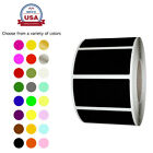 Внешний вид - Rectangular Color Coding Lables in Rolls 1.57 Inch x 0.75 Inch 500 Pack Stickers