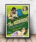 The Horror : Vintage movie advert, poster, Wall art, poster, reproduction.