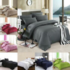 1800 COUNT DEEP POCKET 4 PIECE BED SHEET SET 7 COLORS KING TWIN QUEEN ALL SIZE image