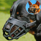 Soft Large Dog Basket Muzzle Mesh Cage No Barking Biting Chewing XS S M L XL XXL