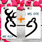 HIS AND HERS MR AND MRS KING AND QUEEN GIFT PHONE CASE COVER FOR IPHONE/SAMSUNG