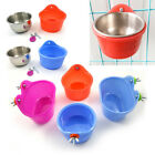 Bird Feeding Bowl Cups Parrot Aviary Cage Water Food Feeder Budgies Bowls 1#-6#