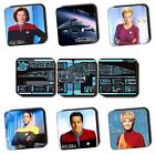 Star Trek Voyager Characters Ships Art - Sci-Fi - Coasters - Wood - 4 FOR 3 on eBay
