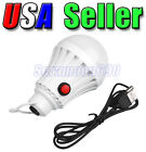 7W USB Rechargeable Emergency LED Bulb Lamp Outdoor Camping Tent Lights