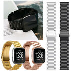 Premium Stainless Steel Metal Watch Band Strap with Regulator For Fitbit Versa image