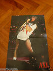 Axl Rose G n'r  Poster Agentina - Iggy pop Ace of base 1 plate full page