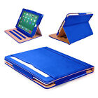 TAN Smart Stand Magnetic Leather Genuine Case Cover For Apple iPad 2/3/4 Air,Pro