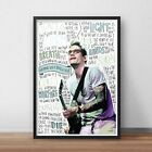 John Mayer INSPIRED WALL ART Print / Poster A4 A3 / Lyrics / Guitarist / Singer