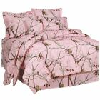 Realtree AP Pink Queen Comforter Set