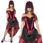 Lades Venetian Temptress Costume Sexy Vampire Adult Halloween Fancy Dress Outfit