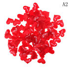 100x Fabric Heart Love Wedding Party Confetti birthday party Table Decor RS
