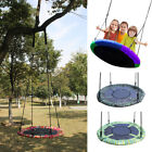 "New Giant 40"" Disc Swing Seat Flying Saucer Tree Swings Nest Playground Toy Set"
