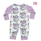 Baby Girl Floral Type Cotton Romper Bodysuit Jumpsuit Playsuit Clothes Outfit <br/> ✔High Quality✔Cotton✔Free Postage✔UK Seller