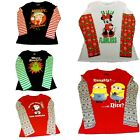 Juniors' Long Sleeve Shirts Betty Boop Minnie Mouse Minions Grinch Snoopy  NWT $15.95 USD on eBay