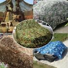 Woodland leaves Camouflage Camo Army Net Netting Car Camping Military Hunting X2
