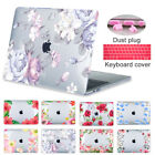 """Crystal 3D Printing Floral Case Cover For Macbook Air Pro Retina 11 12"""" 13"""" 15"""""""