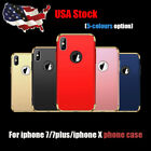 3 in 1 Ultra Slim Hard Cover Shell Shock For iPhone X 7 For iPhone7 plus Case US
