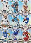 Lot Of 16 Different 2015 Topps Finest Refractor Parallels STAFFORD CARR + KCC226