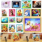 Cute 5D Cardboard Stand Diamond Painting Embroidery DIY Cross Stitch + Holder