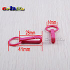 Colorful Gloves Hook Buckles Snap Hook With O-Ring Toy Craft Hanger Accessories
