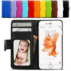 PU Leather Flip Wallet Case Shockproof Card Slot Cover For iPhone X 8 7 6S Plus