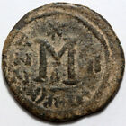 Arab Byzantine coin-coinage of Syria under Persian occupation 610-630 AD 2nd Yea