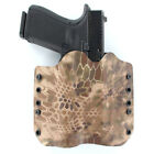 OWB Kydex Holster for 50+ Hanguns with OLIGHT PL-2 - KRYPTEK HIGHLANDER