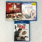 Cameron Diaz 3 Blu-ray Movies Lot - Knight and Day - Sex Tape - The Other Woman
