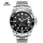 US TEVISE Business Men Automatic Mechanical Stainless Steel Calendar Watch QWWristwatches - 31387