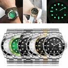 US TEVISE Business Men Automatic Mechanical Stainless Steel Calendar Watch QW