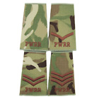 PWRR MTP PRINCESS OF WALES ROYAL REGIMENT MULTICAM RANK SLIDES - SOLD IN PAIRS