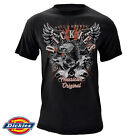 Dickies Men's Authentic American Original Graphic Eagle 100% Cotton T-Shirt  image