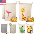 US Laundry Bags Clothes Organizer Basket Toys Storage Box Foldable Waterproof